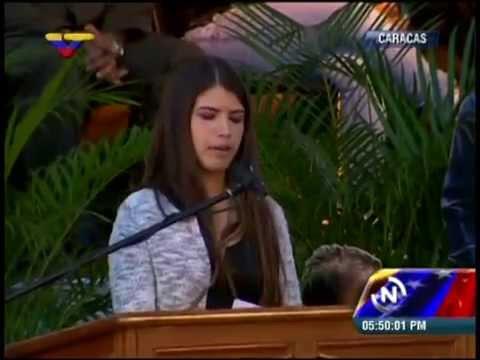 Rosinés Chávez, palabras en el Cuartel de la Montaña a 2 años de la siembra de su padre