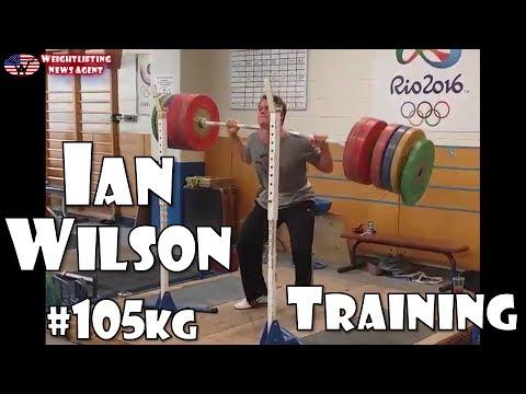 Ian Wilson (USA, 105KG) | Olympic Weightlifting Training | Motivation