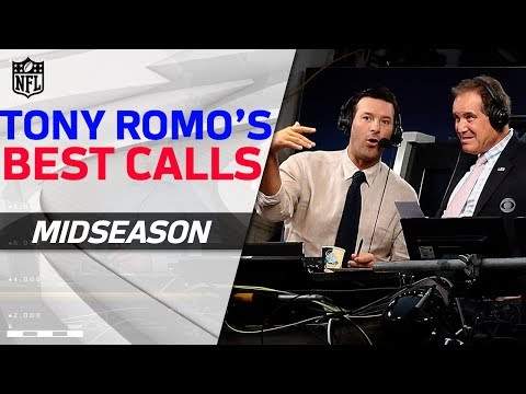 Tony Romo's Best Calls from the First Half of the Season!   NFL Highlights