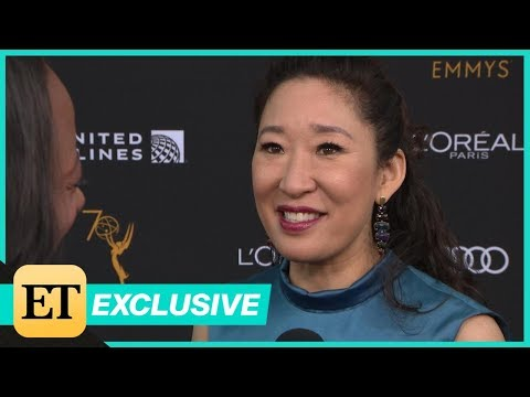 Why Sandra Oh Is 'Ecstatic' Over Her Groundbreaking Emmy Nomination (Exclusive)