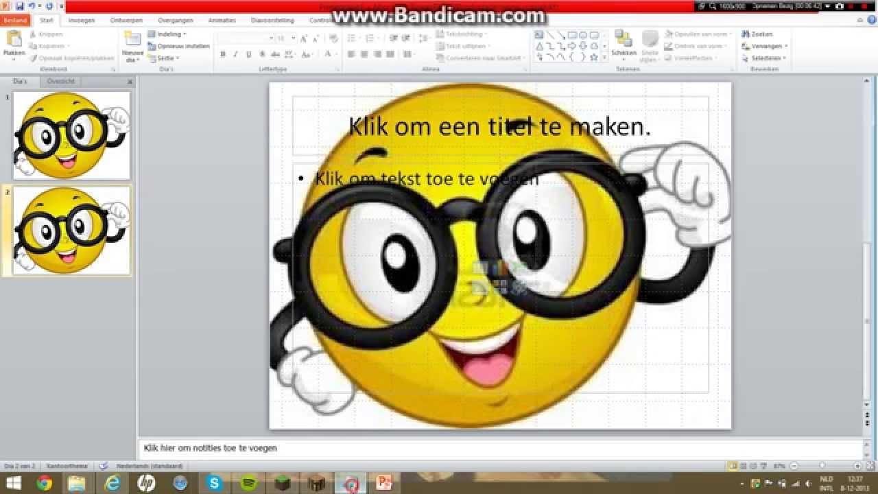 Hoe moet je bij PowerPoint een afbeelding als achtergrond