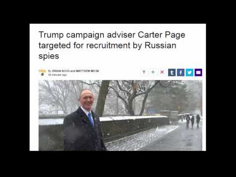 Trump campaign adviser Carter Page targeted for recruitment by Russian spies