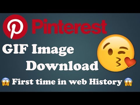How To Download Pinterest Video & GIF Image - First Time - YouTube Best App 2020