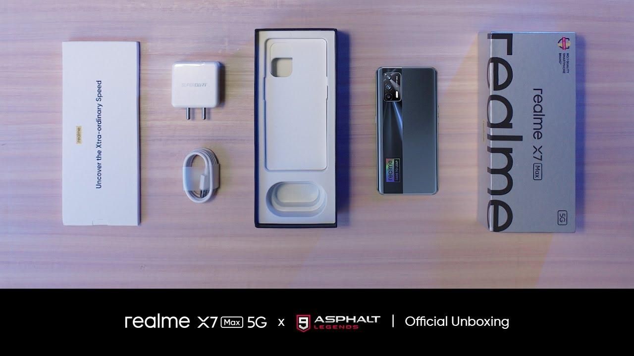 realme X7 Max 5G x Asphalt 9 | Official Unboxing