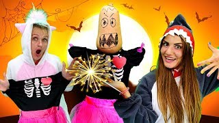 Halloween Costumes & Dress Up Games with Baby Shark and Unicorn: Funny Halloween Videos for Kids