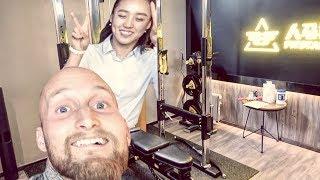 Karl Ess betrunken in China | Gym der Zukunft!