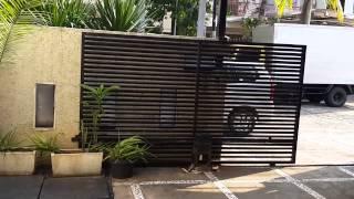 ▶AUTOMATIC GATE  Automatic door Jakarta Indonesia, Pintu Otomatis pagar, gerbang Thumbnail
