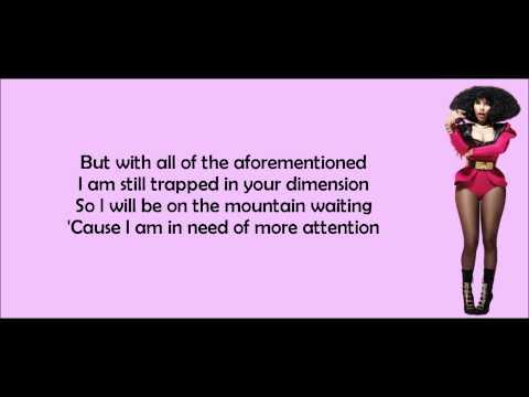 Nicki Minaj - Catch Me Lyrics Video