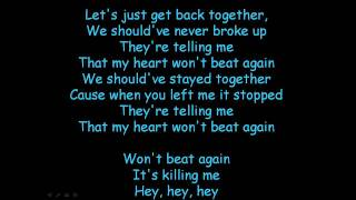 JLS - Beat Again With Lyrics (HD)