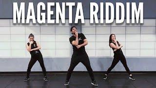 Magenta Riddim | DJ Snake | Bhangra Workout by BollyX
