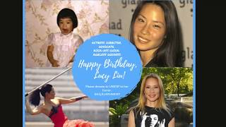 Lucy Liu's 50th Birthday Salute