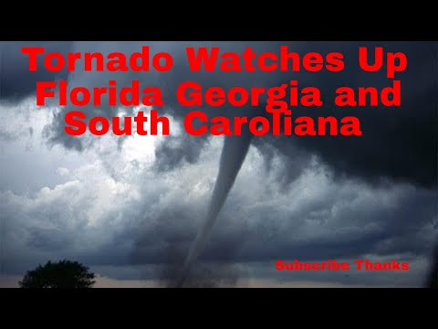 Weather Alert For Flordia,Georgia, & South Carolina Tornado Watch For All