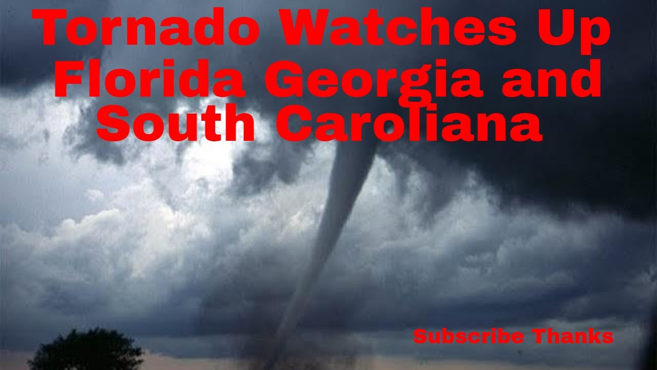 Tornado Watches, Warnings Issued for Counties in Florida, Georgia Friday Morning