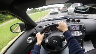 2017 Nissan 370Z Roadster 7AT POV Test Drive