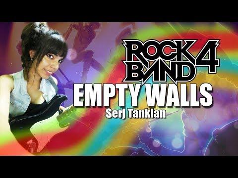 """ROCKBAND 4 - TOCANDO """"EMPTY WALLS"""" EN GUITARRA (HARD)"""