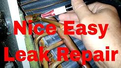 Repair Leak In A Evaporator Coil