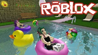 THE NEW AREA OF THE PISCINA🔮ROBLOX