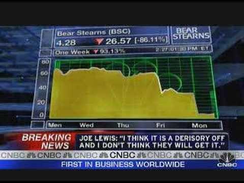 Bear Stearns - 'I think it's a derisory offer'