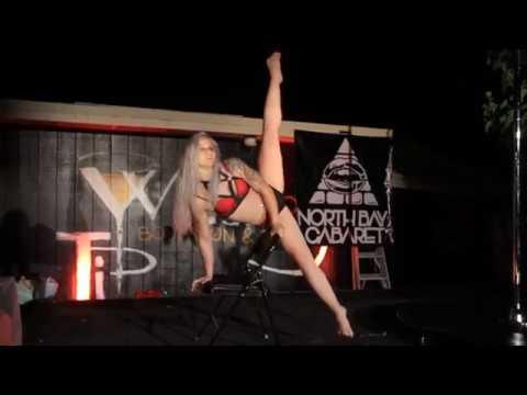 Eve Exothermal in North Bay Cabaret's IllumiNasty!