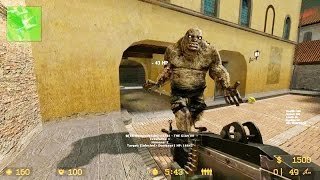 Counter Strike Source - Zombie Horde Mod online gameplay on Italy Map