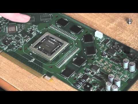 Regeneracja GeForce 8800GS - pieczenie w piekarniku