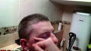 EGOZA-Приключения Даши и Егора Даша делает мне makeup Тональный крем Пудра Тени 14 part