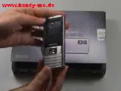 Samsung SGH L700 Erster Eindruck