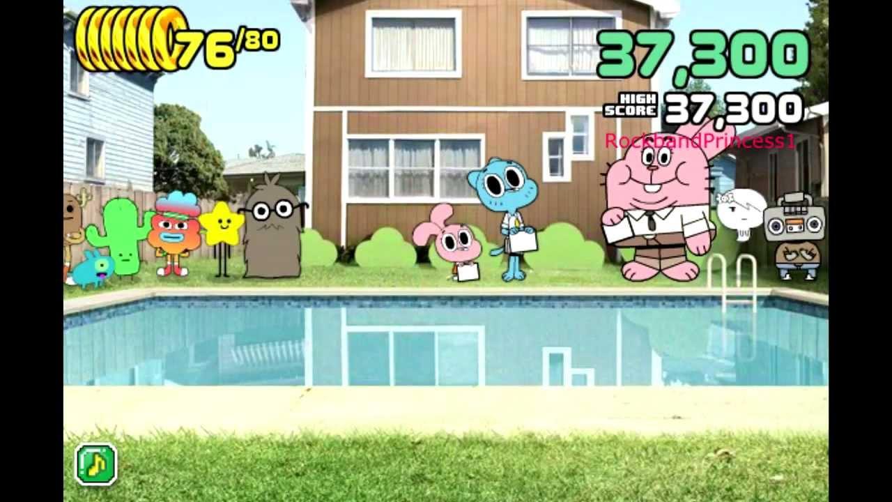 Amazing World Of Gumball Games Splash Master Youtube
