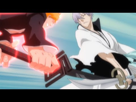 Ichigo Vs. Gin Final Battle - Gin Force Ichigo Use Hollow「1080p」60FPS