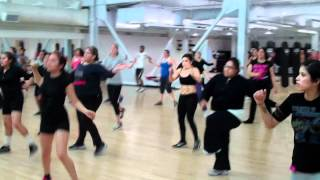 Cardio Kickboxing Spring 2012 San Diego City College.mp4