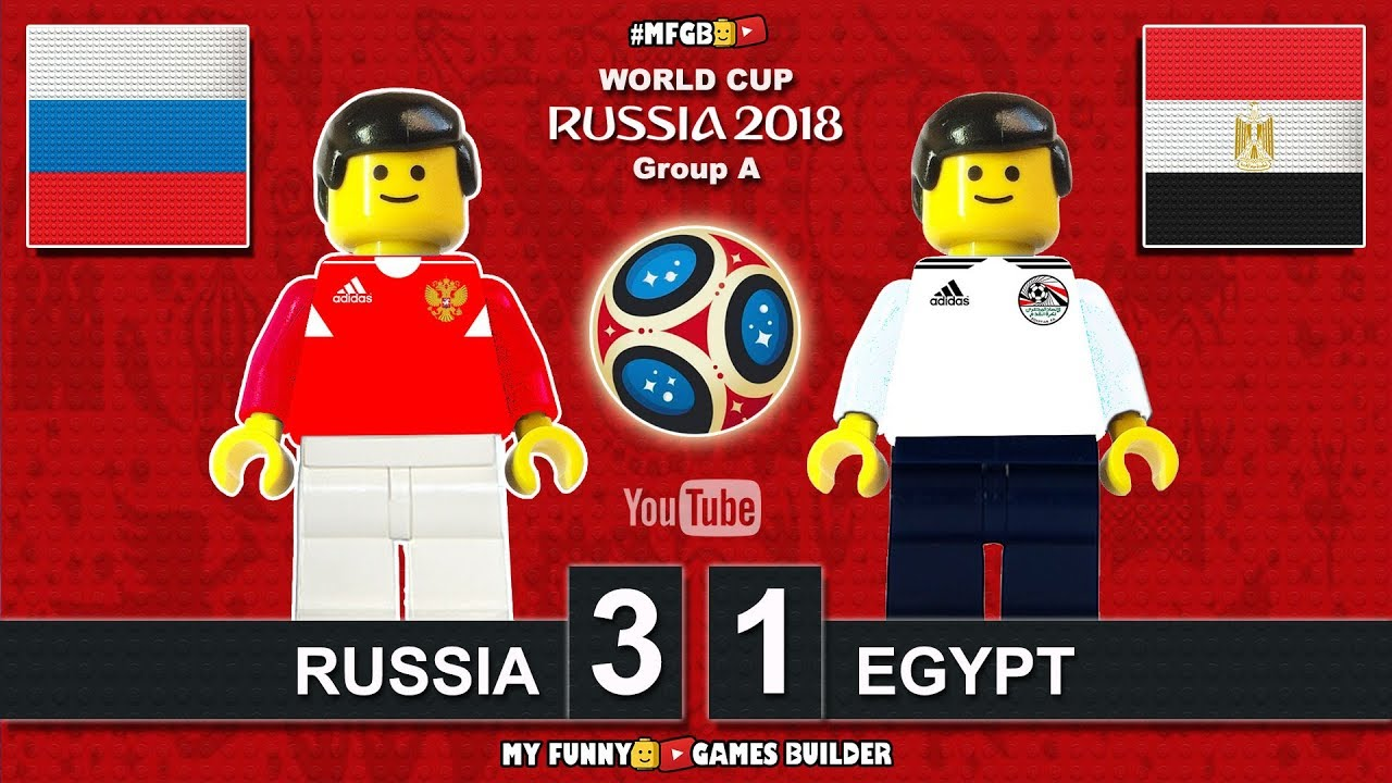 Download Russia vs Egypt 3-1 • World Cup 2018 (19/06/2018) All Goals Highlights Lego Football