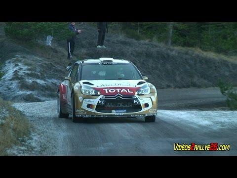 Test Sébastien Loeb DS3 WRC - Rallye Monte Carlo 2015 [HD]