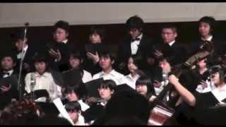 平成25年4月4日(水)に松本市総合体育館で行われた信州大学入学式の記...