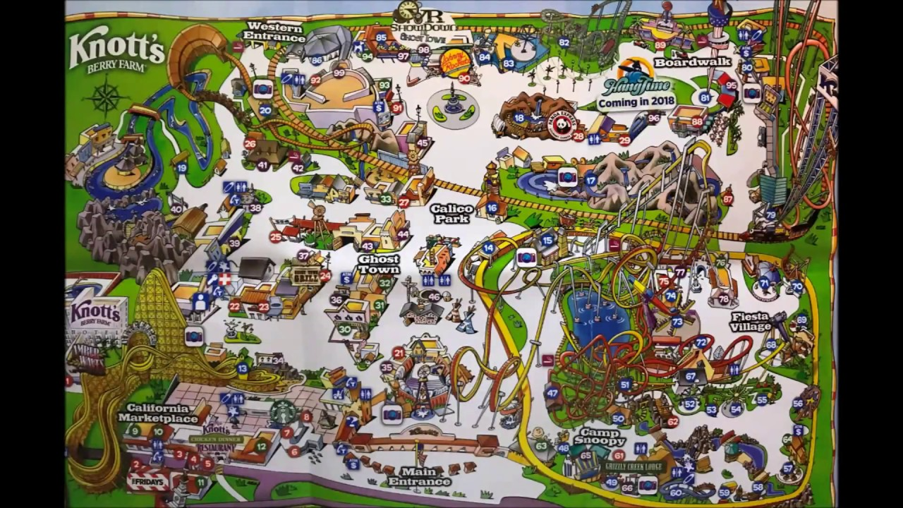 Knott's Berry Farm Maps Over the Years! Video #2 - See Video #3 its on disneyland map, oceans of fun map, legoland map, universal studios hollywood map, pink's hot dogs map, mt. olympus water & theme park map, kings dominion map, adventure city map, cedar point map, carowinds map, kings island map, ghost town in the sky map, california adventure map, magic kingdom map, kentucky kingdom map, islands of adventure map, wonderland park map, magic mountain map, canada's wonderland map, six flags map,