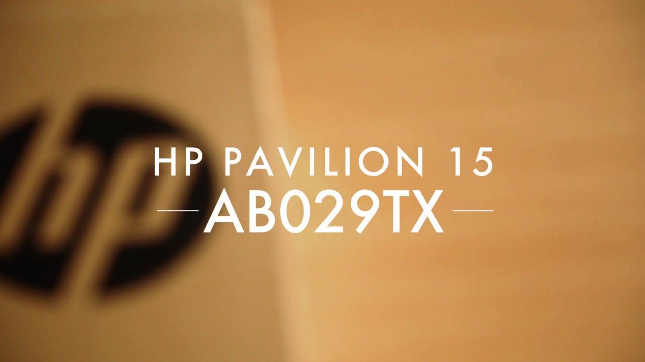 HP PAVILION 15 AB029TX Unboxing, Review, Sound Test, Video