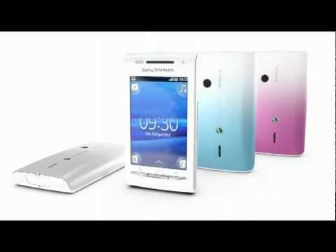 Sony Ericsson XPERIA X8 demo video