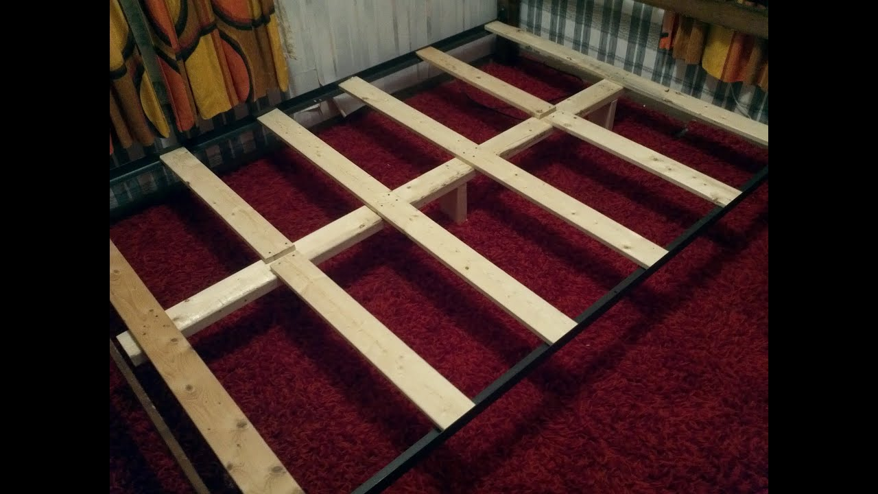 How To Support a Mattress Without a Box Spring - Build a DIY Bed ...