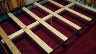 How To Support a Mattress Without a Box Spring - Build a DIY Bed Frame for $10(This video is how to make a simple mattress support without a box spring. It cost about $10 and took about half an hour to build. Thanks for watching!, 2016-02-22T02:03:57.000Z)