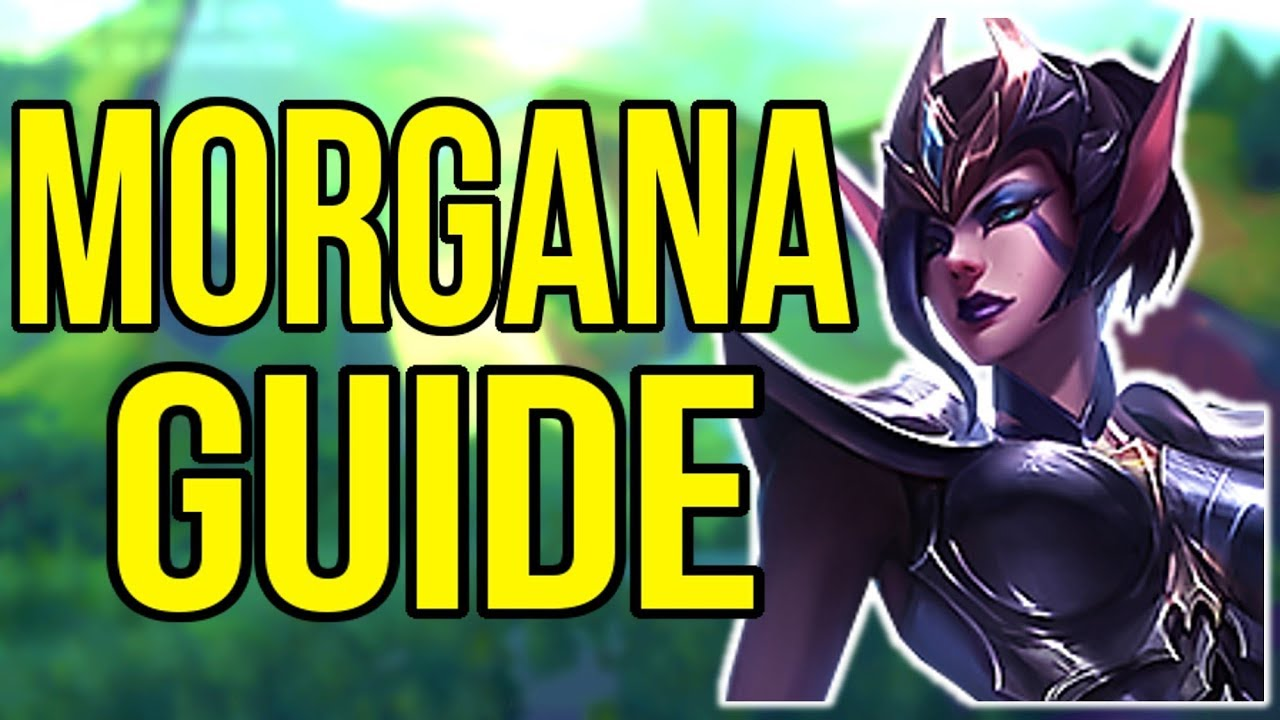 Morgana Challenger Champion Guide How To Play Morgana Support