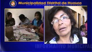 OMAPED DEL DISTRITO DE HUAURA VIENE EFECTUANDO TALLERES DE MANUALIDADES