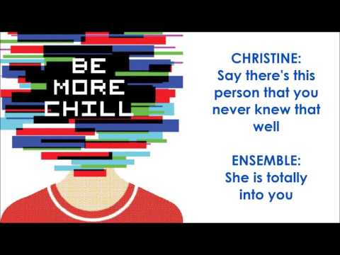 A Guy That I'd Kinda Be Into - BE MORE CHILL (LYRICS)