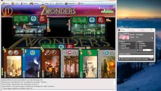 7 Wonders Online BSW Tutorial - Playing on BrettSpielWelt