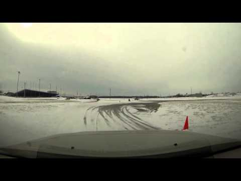 GX470 Vs. Sequoia. Snow Rally Practice At Cayuga, TMP