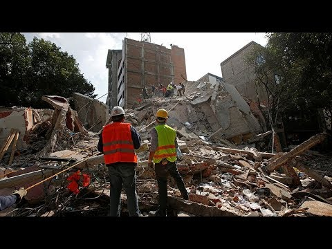 Confusion and panic on streets as earthquake hits Mexico - eyewitness