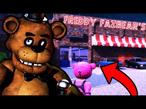 BUILDING THE FNAF PIZZERIA IN FORTNITE...