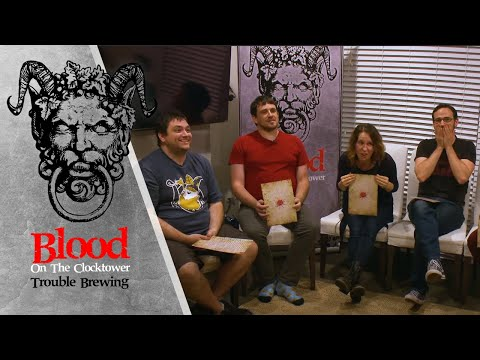 Blood on the Clocktower - Play-Through of Trouble Brewing (October 2019, Game 1)