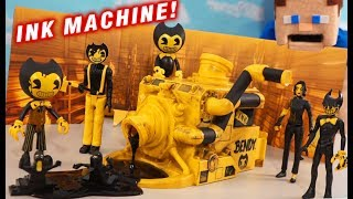 Bendy Dark Revival INK MACHINE PLAYSET! PhatMojo Series 3 Unboxing