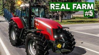 REAL FARM #5: Der erste Auftrag!   Real Farm Landwirtschafts-Simulator deutsch