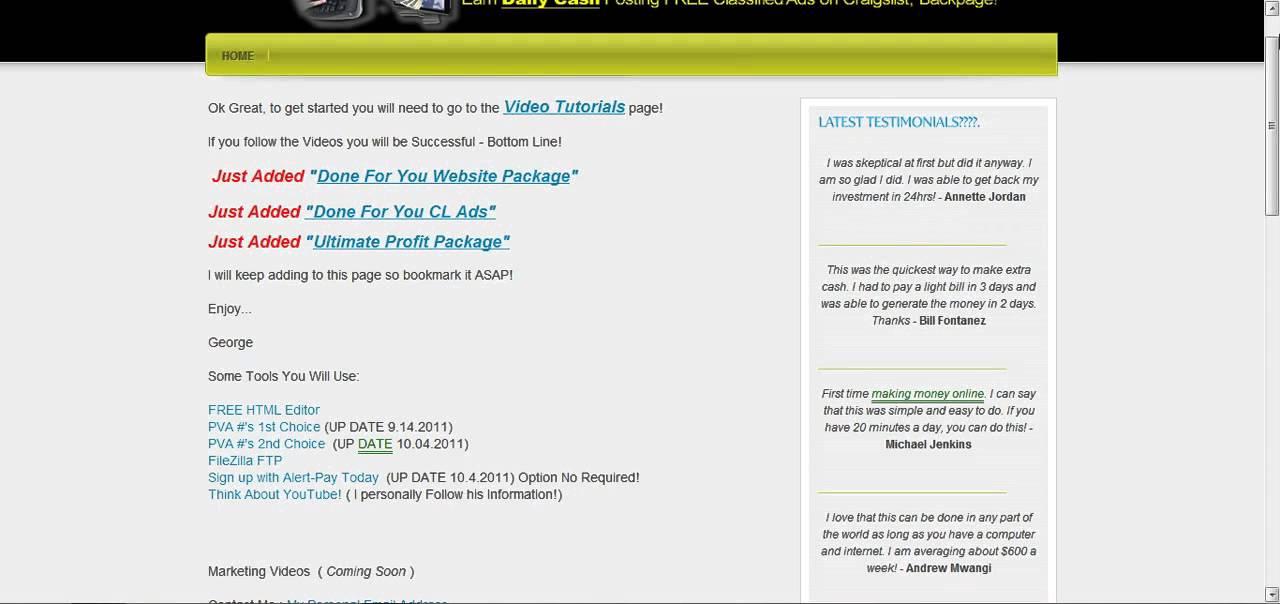 Craigslist Posting System, Post Hundreds Of Ads On ...