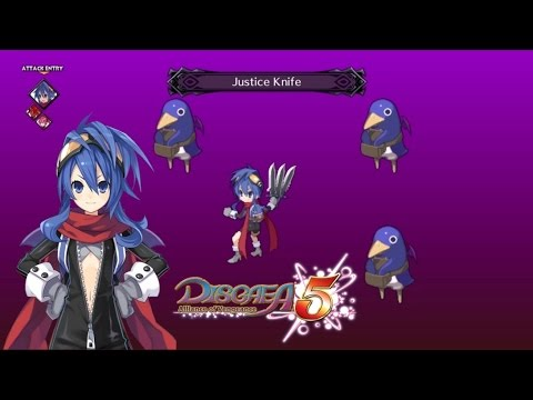 Disgaea 5 : All of NISA special attacks